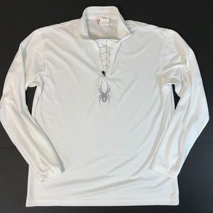 Spyder Mens Athletic Running Shirt SZ Large